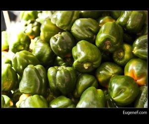Green Pepper Bunch