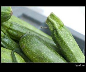 Green Zuchini Basket