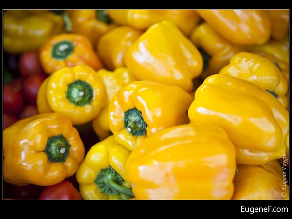 Yellow Bell Pepper Tomatoes