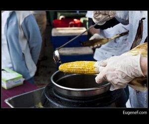 Buttering Corn