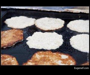 Closeup Pancake Batter