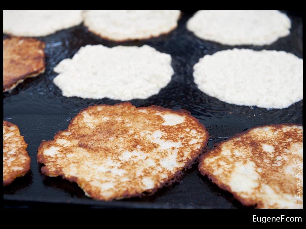 Closeup Pancakes
