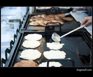 Cooking Pancake Batter