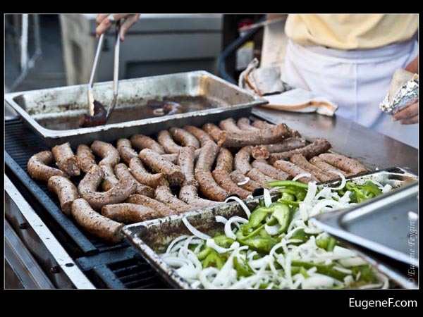Cooking Sausages