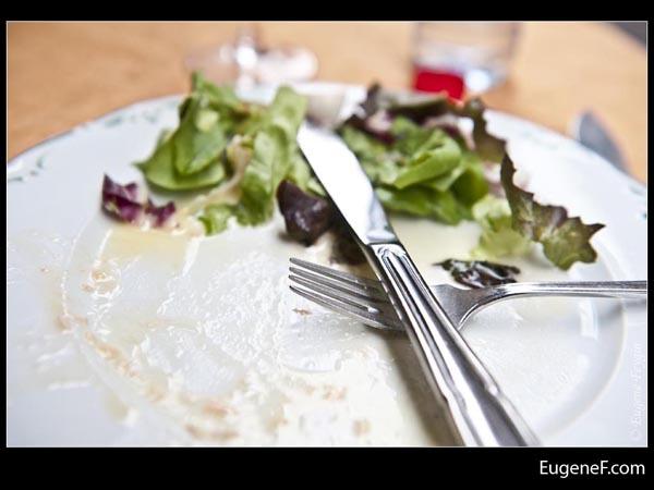 Eaten Seafood Dish