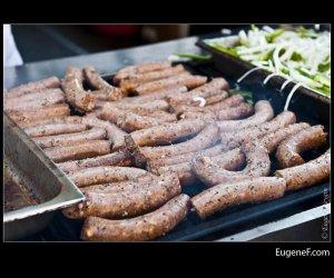 Group Polish Sausages