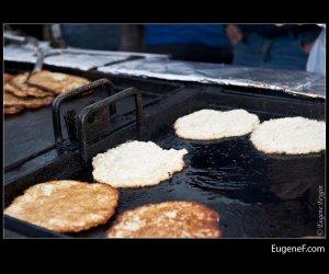 Half Finished Pancakes