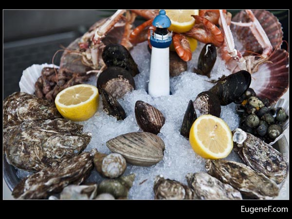Lemon Seafood Assortment