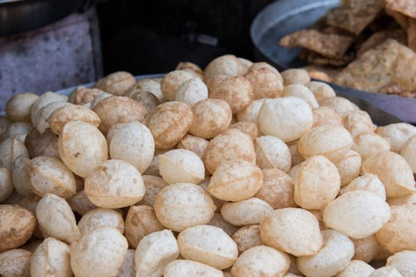 Spicy Panipuris in Shop