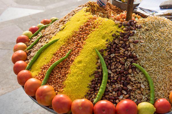 Street Food in Market