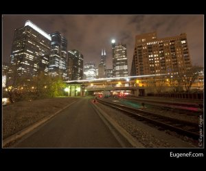 Chicago Train Tracks