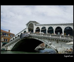 Historical Venice Bridge