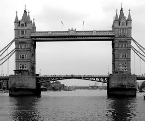 Black and White British Bridges