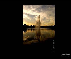 Sunset Fountain