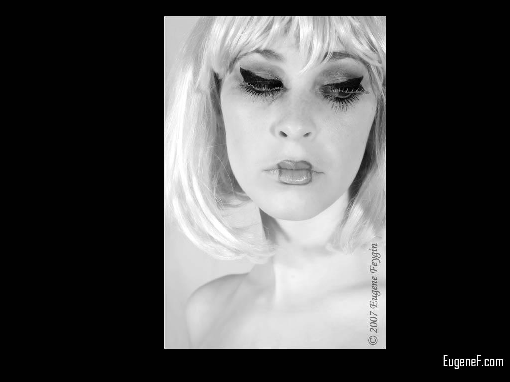 Kim Model Art Portrait 6