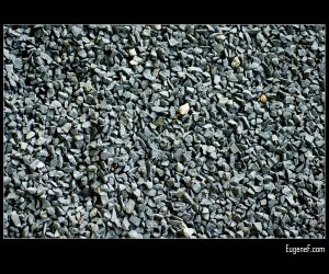 Gravel Background Black