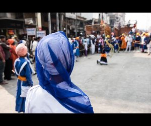 Sikh Ceremony in Delhi (1)