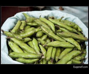 peruvian green peas