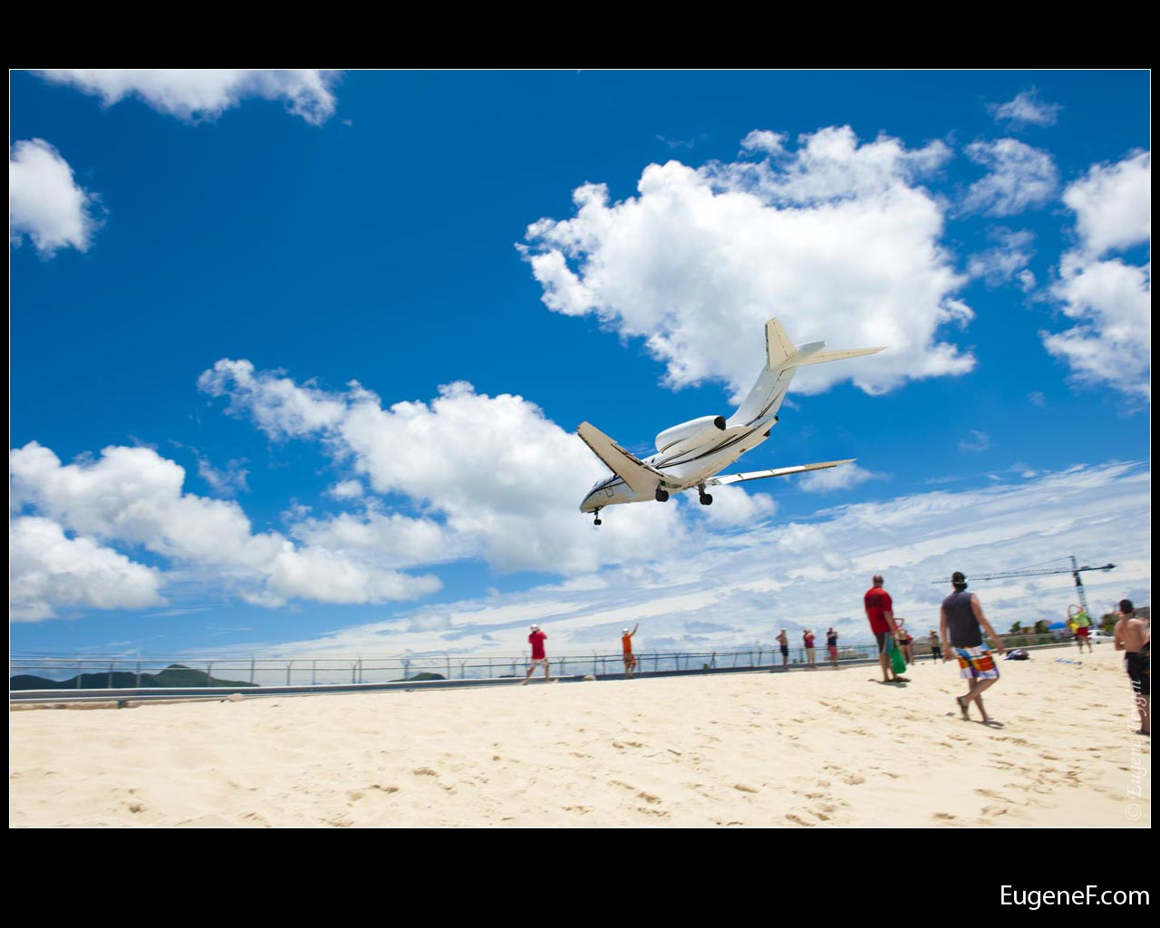 Airplane Sand Beach