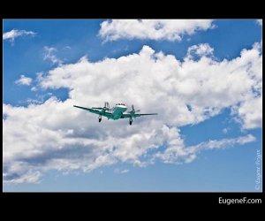 Jet in Clouds
