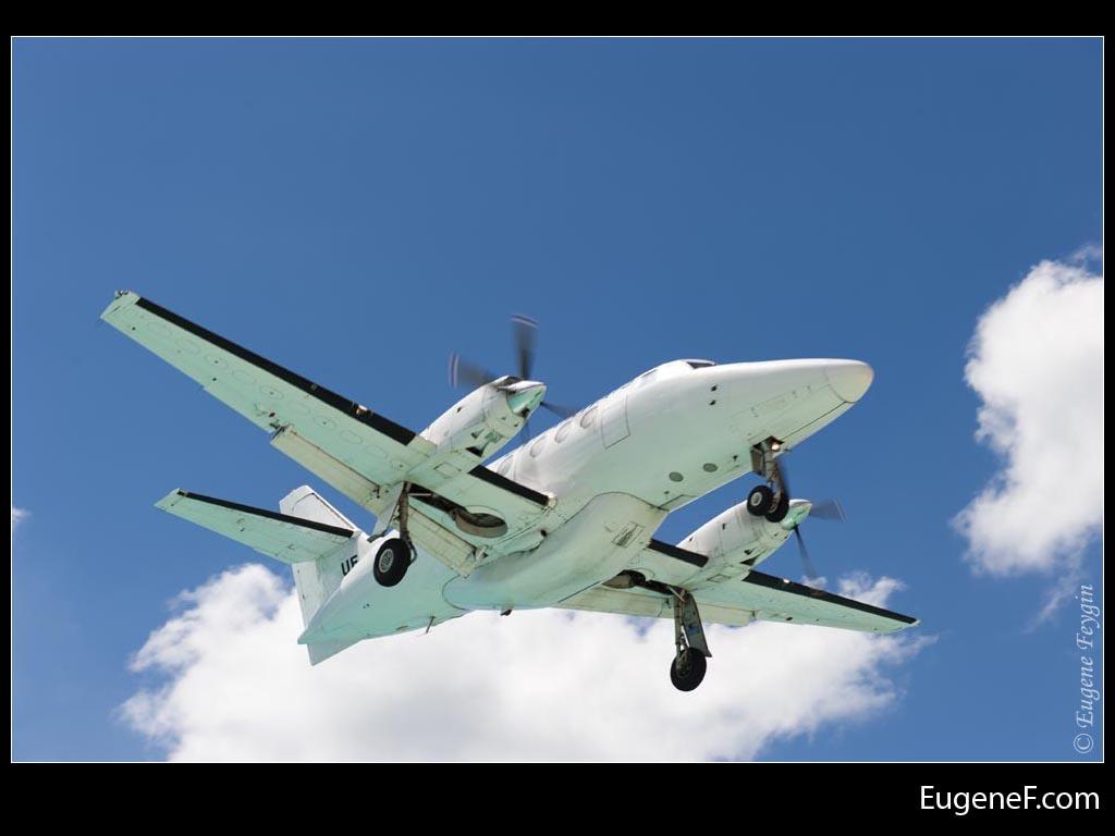 Large Airplane Midair