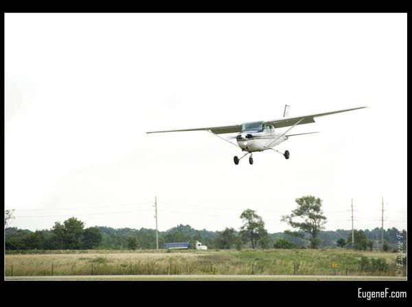 Small Plane Landing Strip