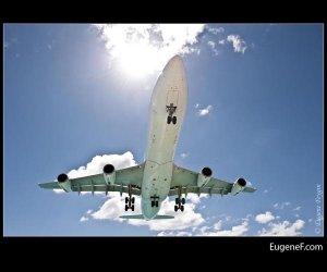 Sun Beaming Airplane