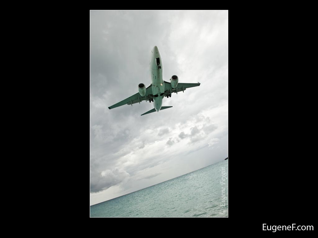 Under Airplane