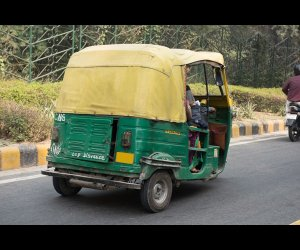 Driving Auto on Road
