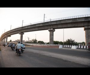 Flyover in Jaipur