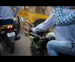 Locals Riding Motorbikes
