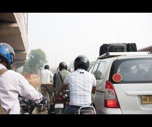 Men Riding Motorbikes
