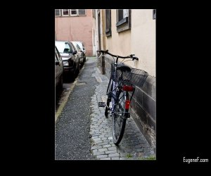 Parked Bicycle
