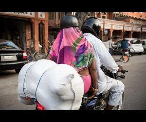 Road View in Jaipur
