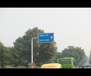 Guidepost To India Gate