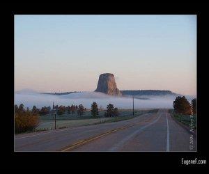 Morning Fog at Devil's